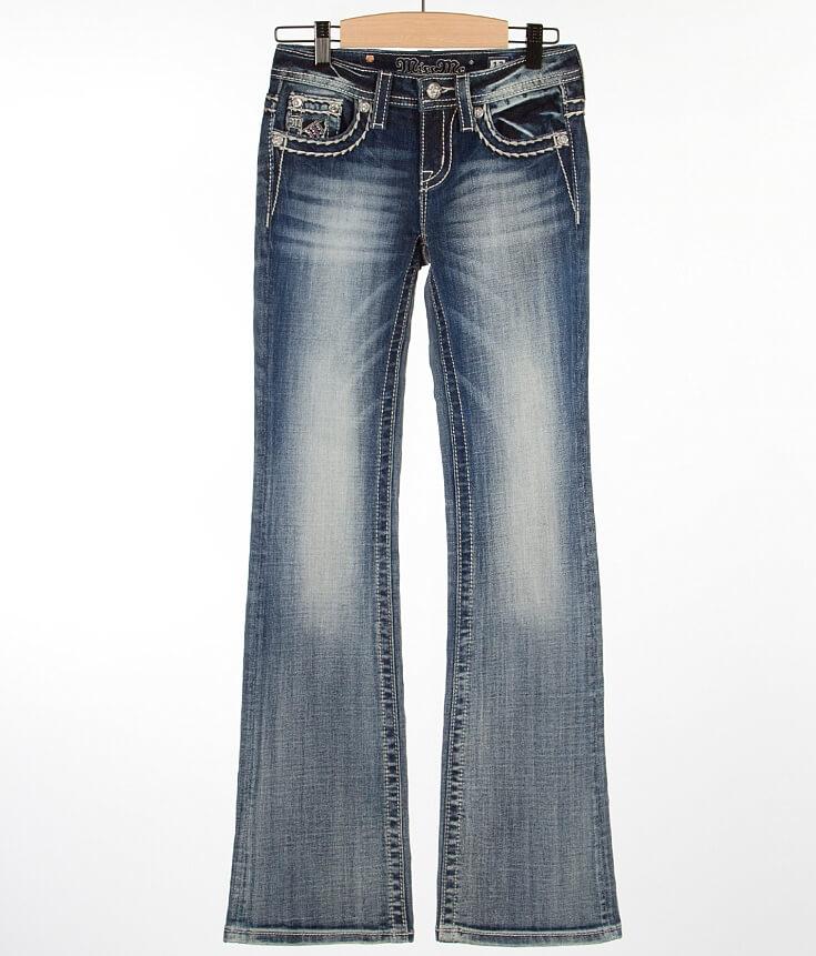 Girls - Miss Me Glitz Boot Jean