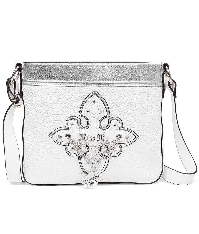 Miss Me Textured Crossbody Purse front view
