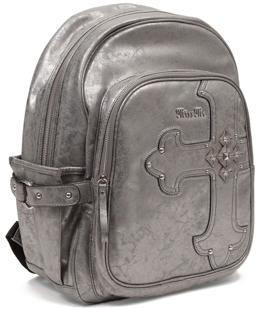 5e60ee32a160 Miss Me Metallic Backpack - Women s Accessories in Gunmetal