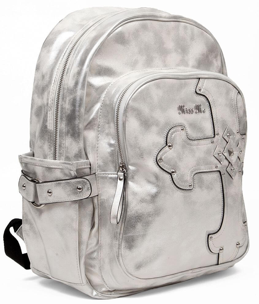 22cb66e1aff5 Miss Me Metallic Backpack - Women s Accessories in Pearl Silver