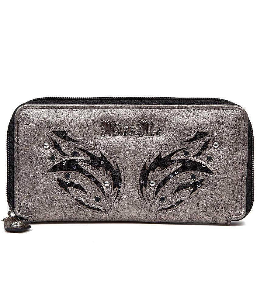 Miss Me Sequin Wallet front view