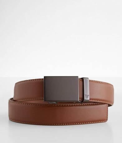 Mission Belt Gunmetal Leather Belt