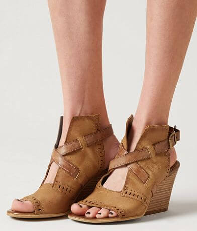 Miz Mooz Kipling Leather Wedge Sandal