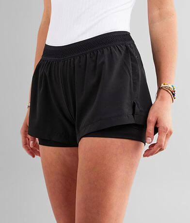 Mono B Layered Athletic Stretch Short