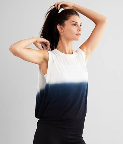 Mono B Dip Dye Active Tank Top