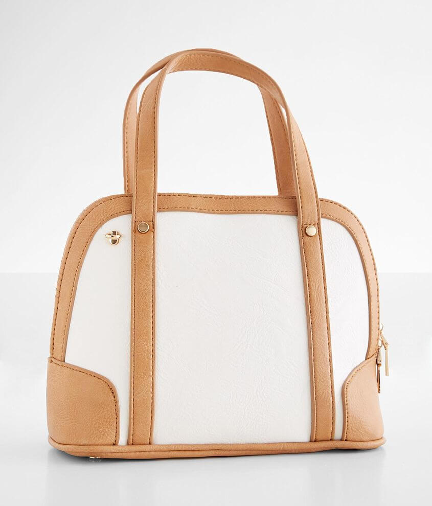 Structured Crossbody Purse front view