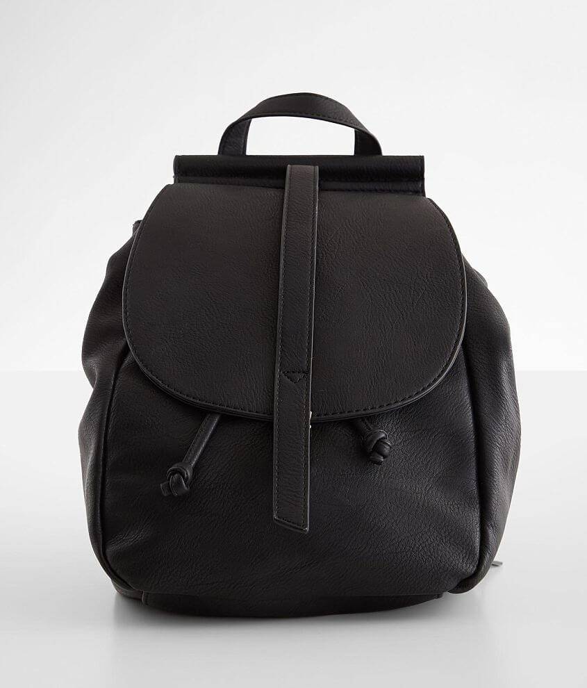 Vegan Leather Backpack front view