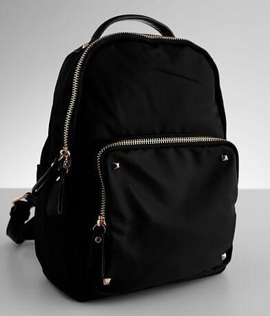 Studded Nylon Mini Backpack