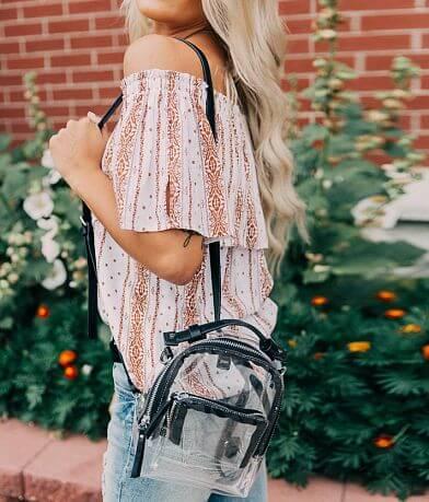 Clear Mini Backpack