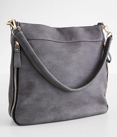 Madison West Distressed Hobo Purse
