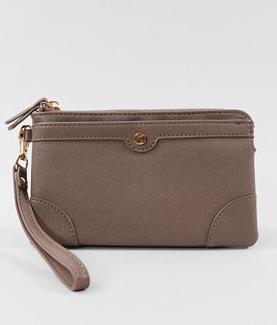 Madison West Textured Wristlet