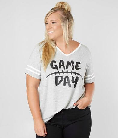 Daytrip Game Day T-Shirt - Plus Size Only