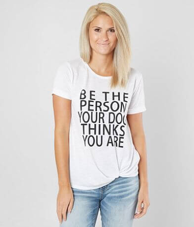 twine & starkDog Person T-Shirt