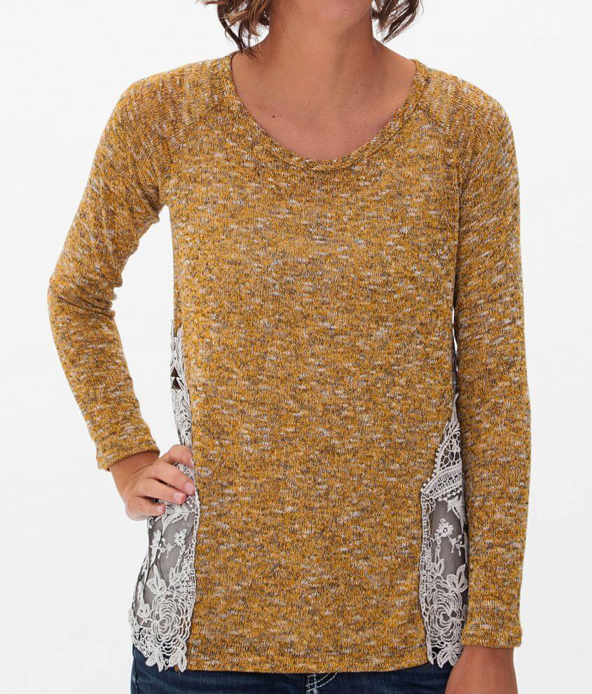 Moa Moa Open Weave Sweater front view