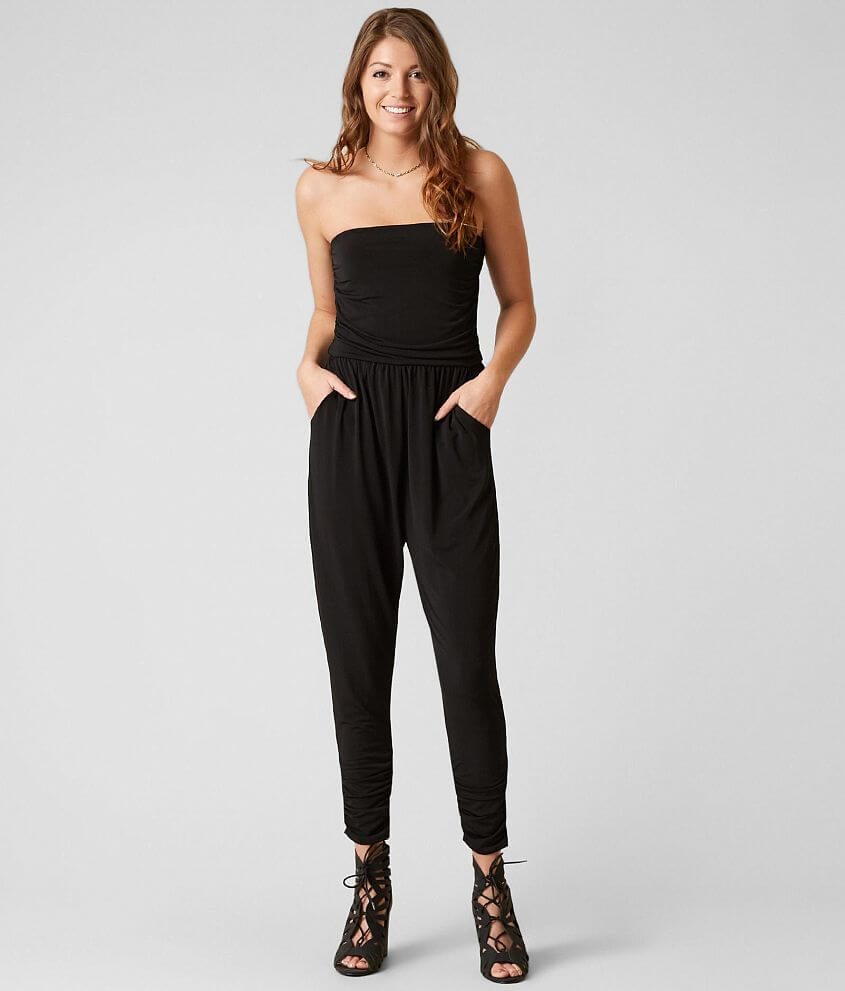 d30d00ba1eee Daytrip Strapless Romper - Women s Rompers Jumpsuits in Black