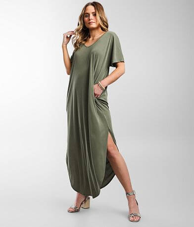 Daytrip Maxi T-Shirt Dress