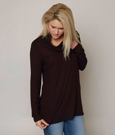 Moa Moa Cowl Neck Sweater
