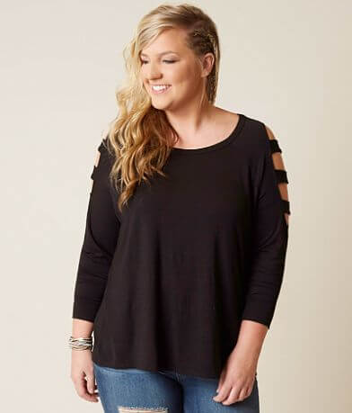 Daytrip Lattice Top - Plus Size Only