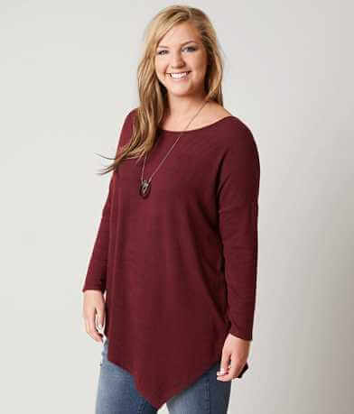 Daytrip Scoop Neck Pullover-Plus Size Only