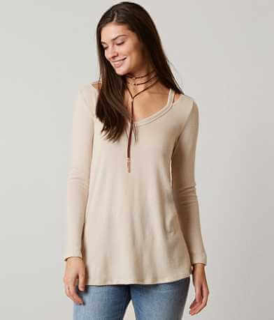 Moa Moa Cold Shoulder Top