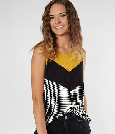 Daytrip Color Block Tank Top