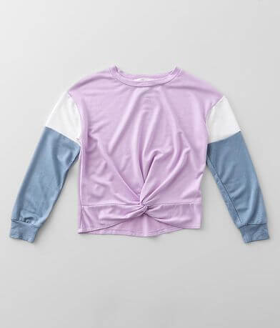 Girls - Moa Moa Color Block Pullover