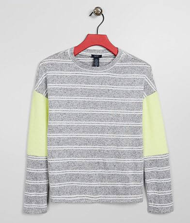 Girls - Daytrip Brushed Knit Striped Top