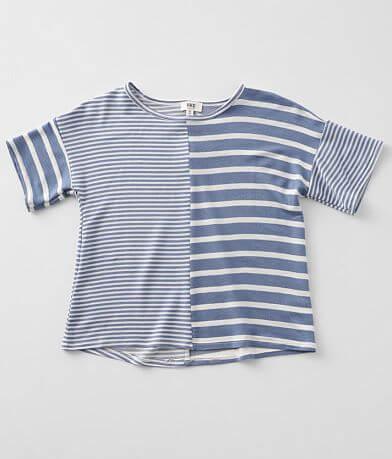 Girls - BKE Mixed Stripe T-Shirt