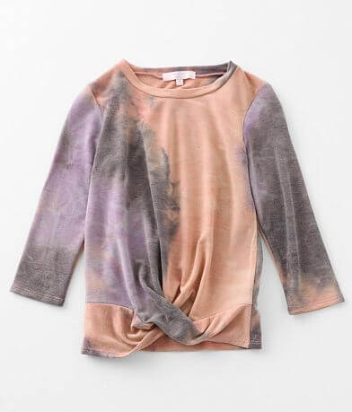 Girls - Moa Moa Twisted Front Pullover
