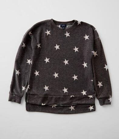 Girls - Daytrip Fleece Star Pullover