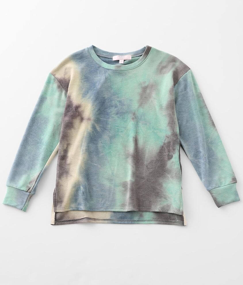 Girls - Moa Moa Tie Dye Pullover front view