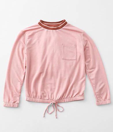 Girls - Moa Moa Pocket Pullover