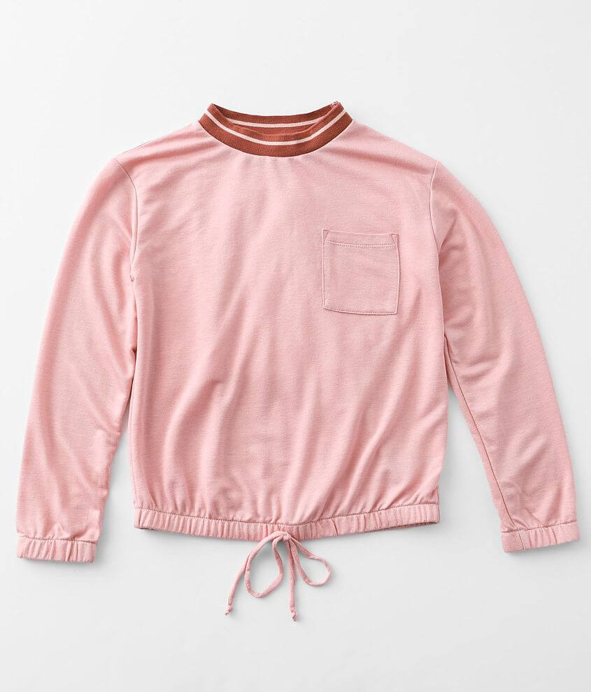 Girls - Moa Moa Pocket Pullover front view