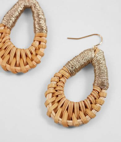 BKE Thread Wrapped Earrings