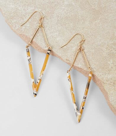 BKE Pointed Resin Earring