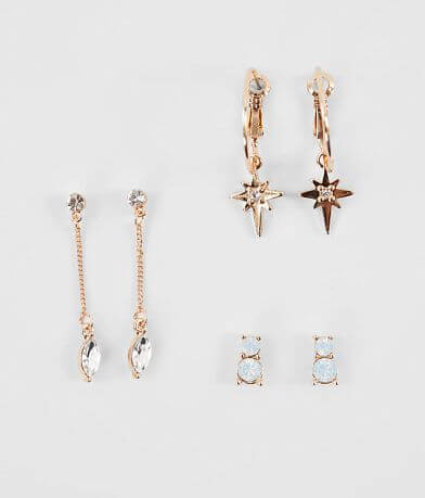 BKE Trio Earring Set
