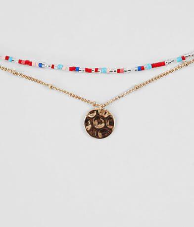 BKE Dainty Beaded Necklace
