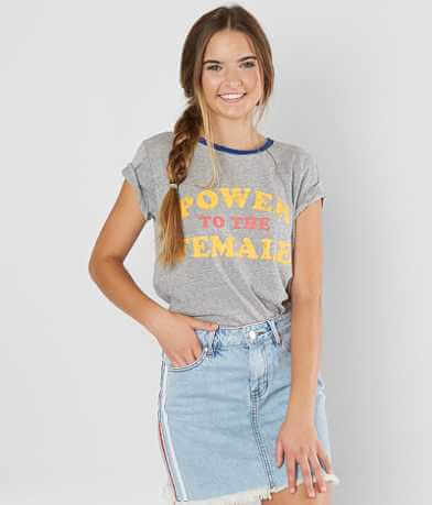 twine & stark Power To The Female T-Shirt