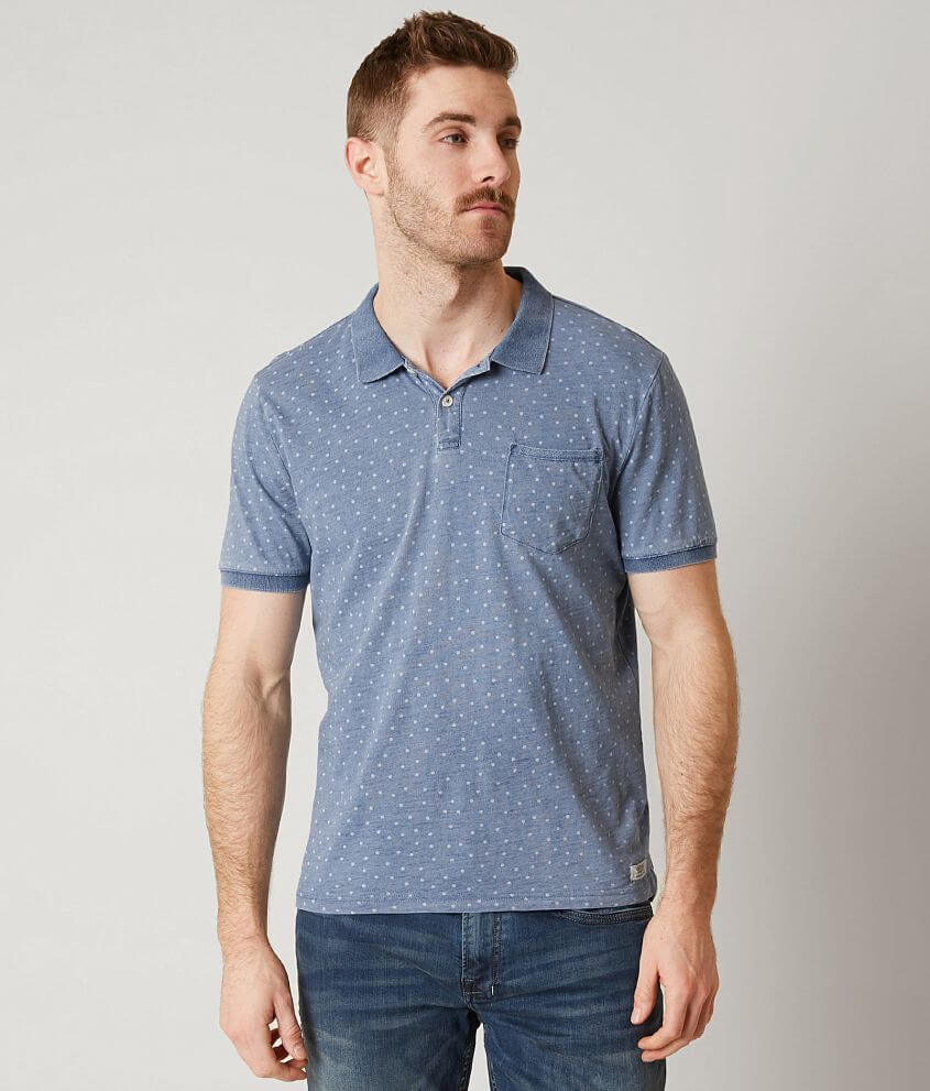 Heritage Polka Dot Polo front view