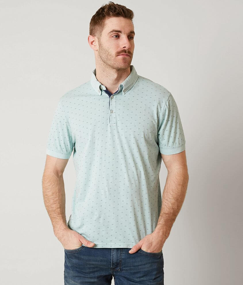 Heritage Printed Polo front view