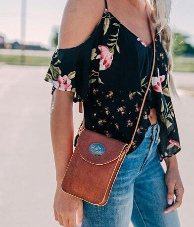 Most Wanted North South Crossbody Purse