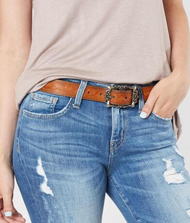 Most Wanted Distressed Leather Belt