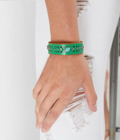 Most Wanted Turquoise Studded Bracelet