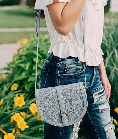 Most Wanted Floral Embossed Purse