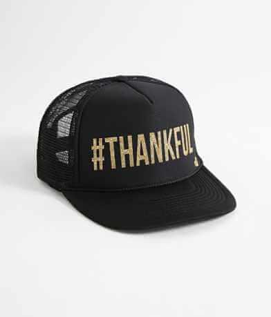 Mother Trucker #Thankful Trucker Hat