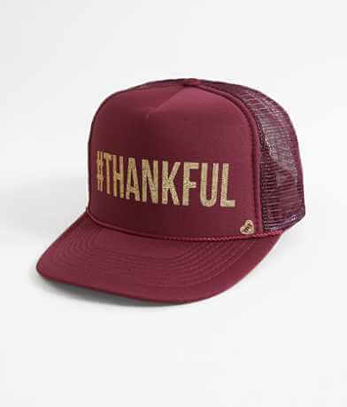 Mother Trucker #Thankful Trucker Hat
