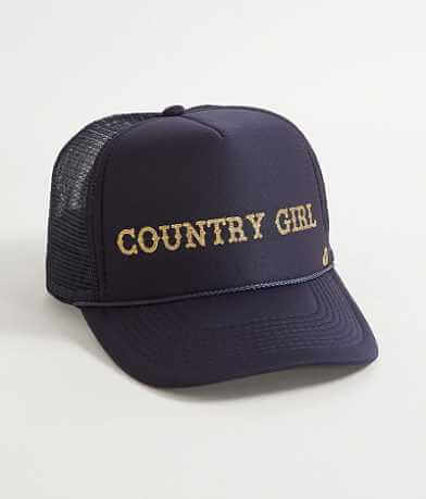 Mother Trucker Country Girl Trucker Hat