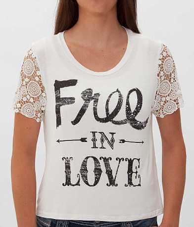 Daytrip Free In Love Top