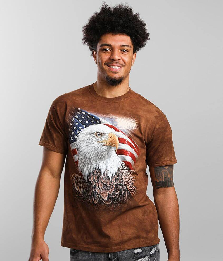 The Mountain Independence Eagle T-Shirt front view