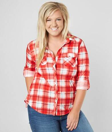 Daytrip Plaid Shirt - Plus Size Only